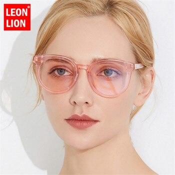 LeonLion 2019 Vintage Big Frame Sunglasses Women Brand Designer Ocean Lens Retro Sun glasses UV400 Oculos De Sol Feminino