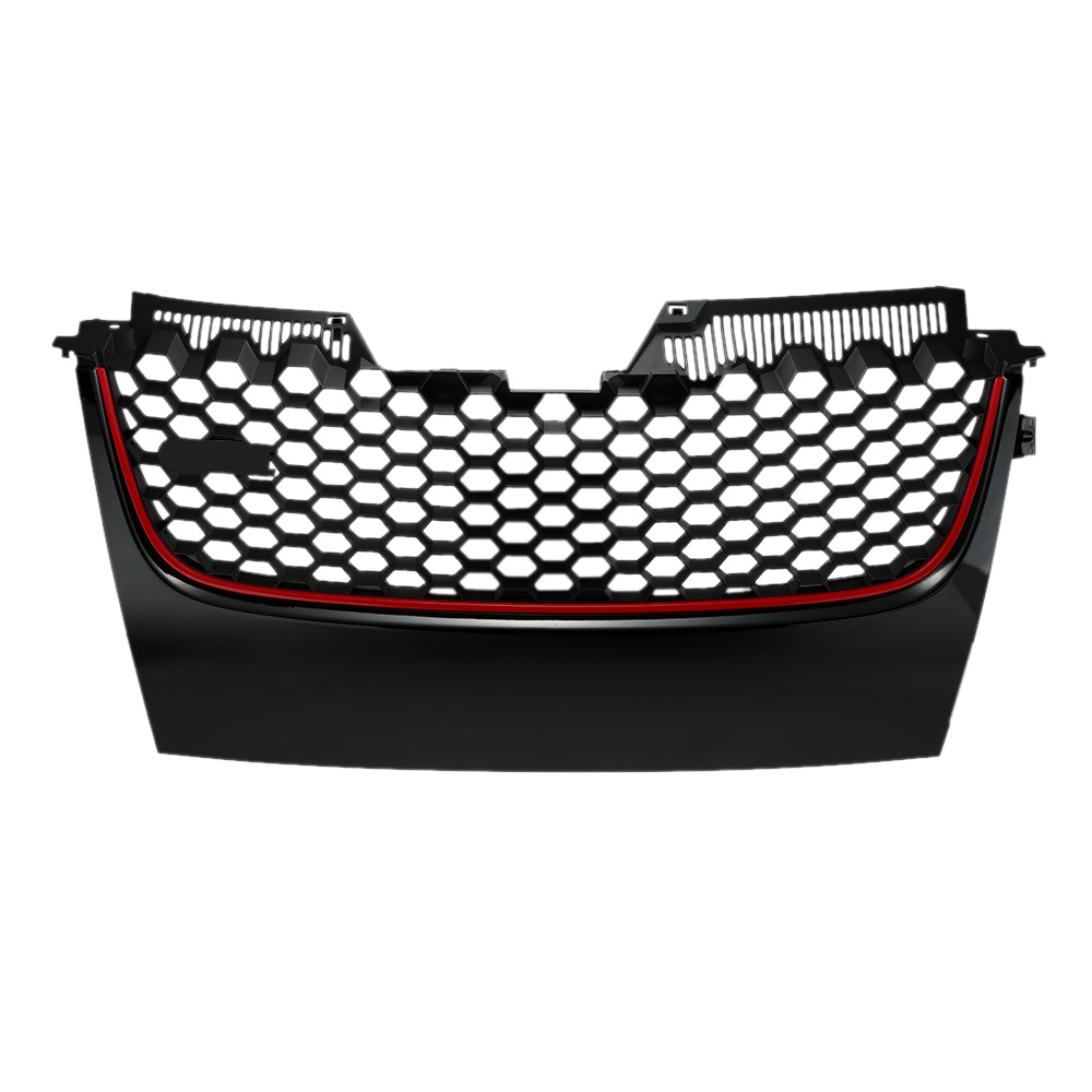 ФОТО Professional Car Front Bumper Grille with The Brand Badge for VW Golf 5 GTI 05-09 for VW PASSAT B6 06-09 Car Accessories for VW