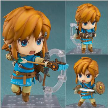 The Legend of Zelda Link 733# Nendoroid Game Nendoroid Anime Action Figure PVC toys Collection figures for friends gifts original box sonic the hedgehog vivid nendoroid series pvc action figure collection pvc model children kids toys free shipping