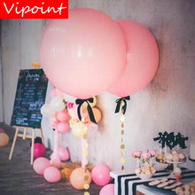 VIPOINT PARTY 5pcs 36inch blue pink red green latex balloons wedding event christmas halloween festival birthday party PD-123