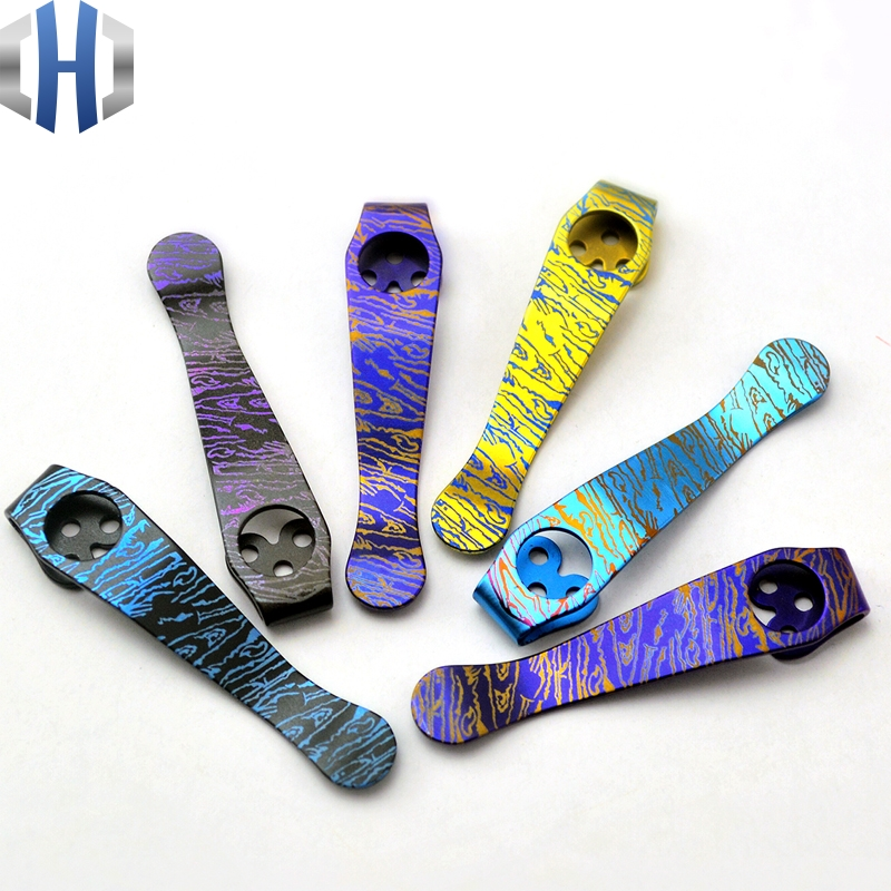 C81 Back Clip Spider C10 Titanium Alloy Knife Clip Pocket Clip EDC Tools broad paracord