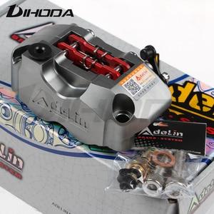 Adilin ADL-1 мотоцикл 4 поршневые тормозные суппорты насос 82 мм крепление 200 220 для WISP RSZ черепаха король маленькое излучение