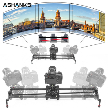 ASHANKS S2 Camera Track Slider Carbon Fiber Adjustable Angle Tube Follow Focus Pan for Stabilizer DV DSLR Camera Video Shooting
