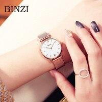 Mesh Stainless Steel Watch Women Bracelet Milanese Wrist Watch Female Clock Minimalist Wristwatches zegarek damski relojes xfcs