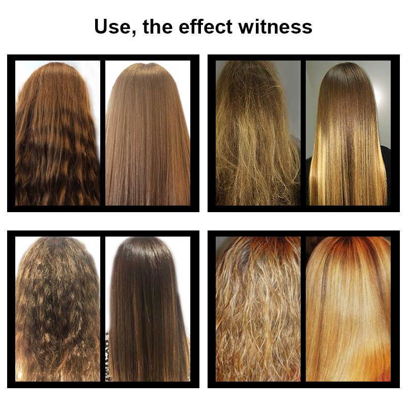 11,11 PURC queratina brasileña 12% formalina 300ml tratamiento de queratina y 100ml champú purificador alisador de cabello tratamiento set