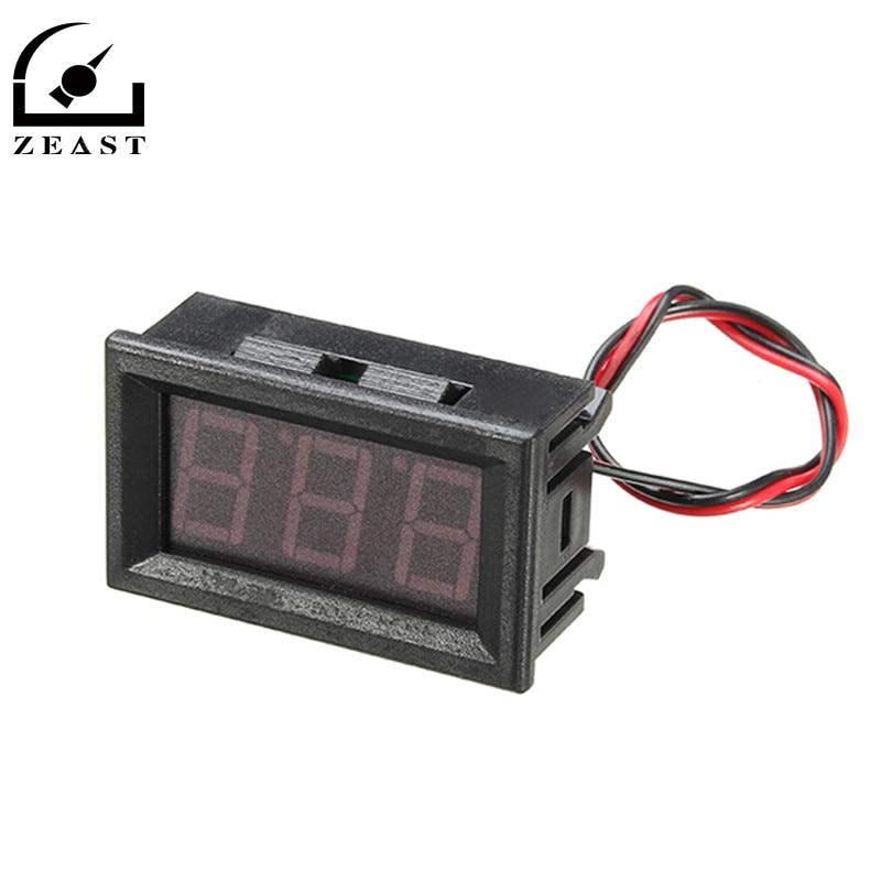 2 Inch Digital Panel Meter : Voltmeter ac v mini digital voltage panel meter