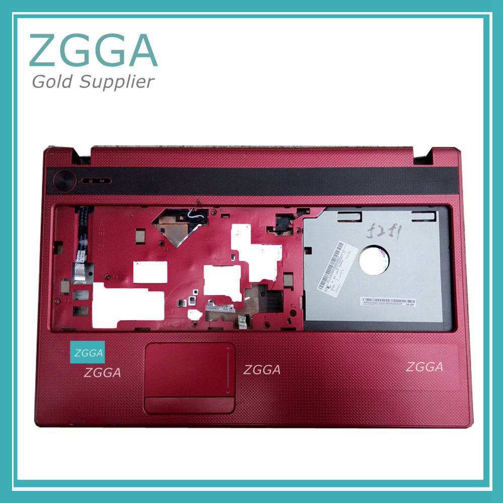 Genuine Original Palmrest For Acer Aspire 5733 5741 5740 5551 5251 5750 Laptop Replace Cover Upper Case Keyboard Bezel Shell Red original new al12b32 laptop battery for acer aspire one 725 756 v5 171 b113 b113m al12x32 al12a31 al12b31 al12b32 2500mah