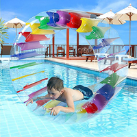 Kids Colorful Inflatable Water Wheel Roller Float 36inch Giant Roll Ball For Boys and Girls Swimming Pool Toys Grass Plaything
