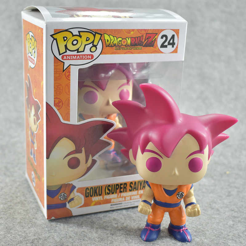 Funko pop Dragon Ball Z GOKU Action Figure Doll Collection Model Toy for the children birthday gift