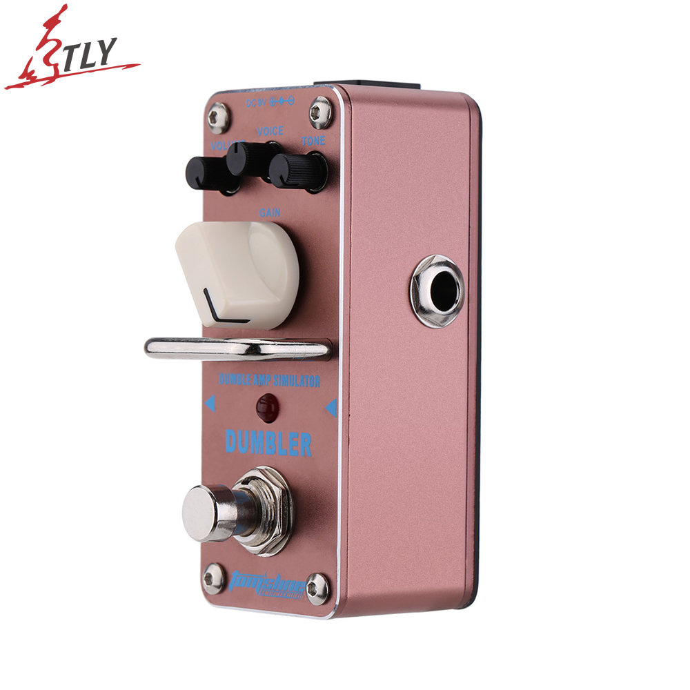 AROMA ADR-3 True Bypass Dumbler Amp Simulator Mini Single Electric Guitar Effect Pedal Professional Guitar Parts aroma aov 3 ocean verb digital reverb electric guitar effect pedal mini single effect with true bypass guitar parts