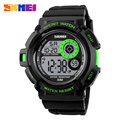 Men Sports Watches Casual LED Digital Military Multifunctional Wristwatches 50M Waterproof Student Outdoor Clock Skmei Brand