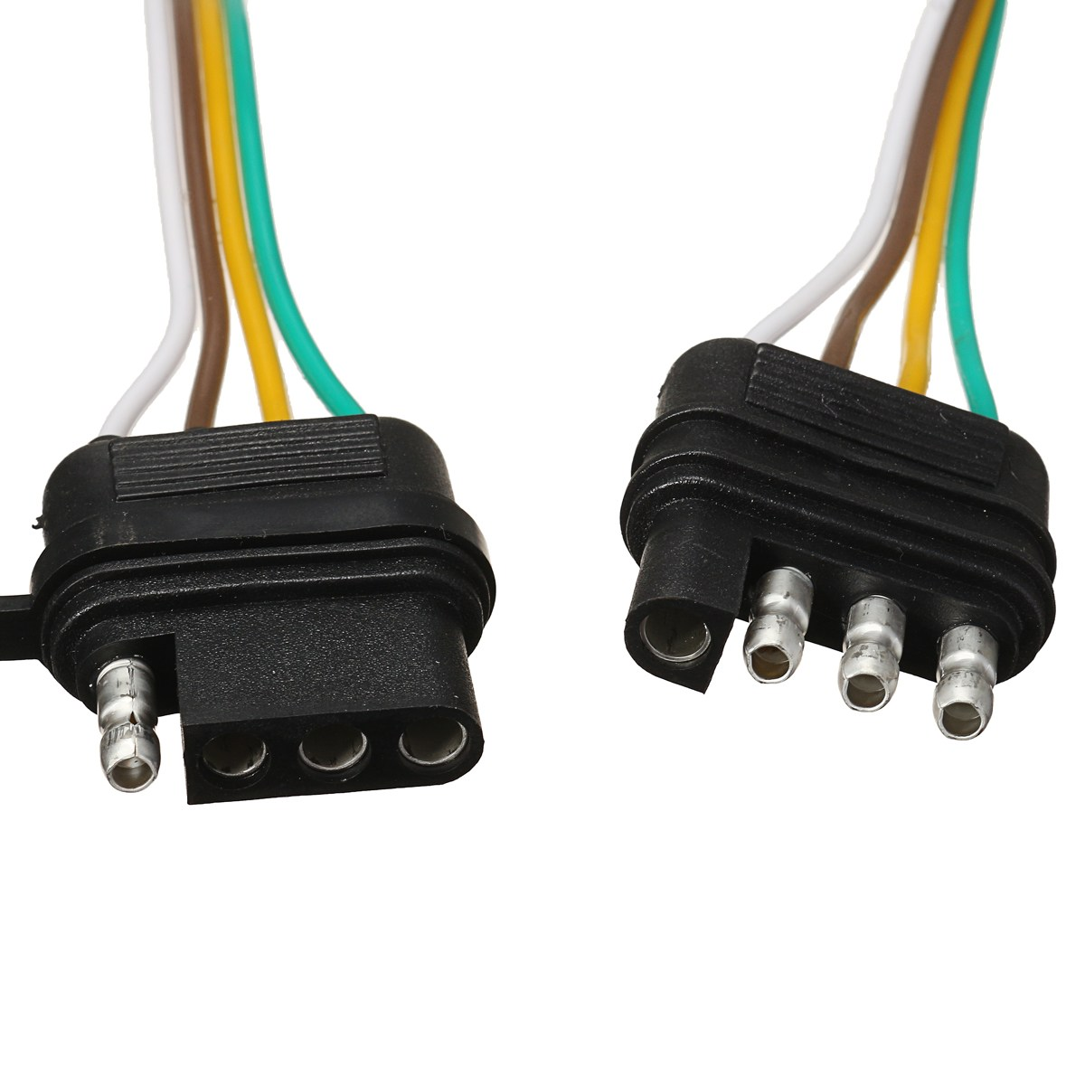 Wire Harness Split Wiring Library A 4 Prong Trailer Kroak 2 Way Pin Splitter Y Adapter For Led Tailgate Bar