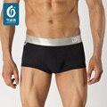 100 peças/Mens Underwear boxers Fibra de Bambu Masculino Cuecas Boxer Shorts Man Cuecas dos homens Saudáveis Esticar Troncos U-convexo