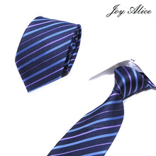 High Quality Fashion Classic Mens Stripe Silk Tie Gold White Blue Jacquard Woven 100% Necktie Polka Dots Ties