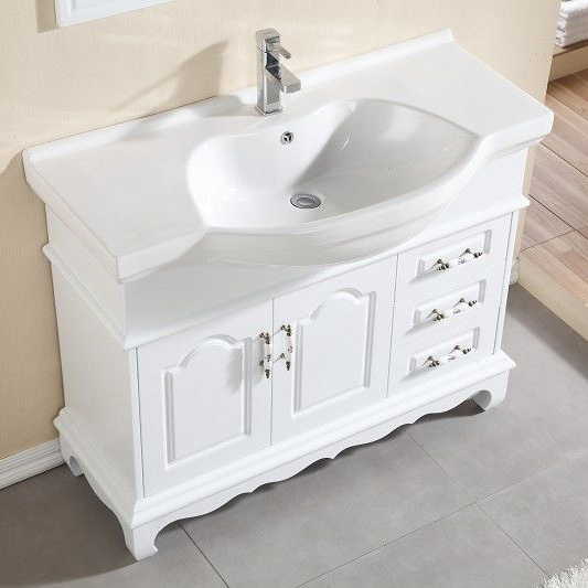 Commodities Collar Antique Wood Floor Bathroom Cabinet Washbasin Combination Of Hand Washing Basin Cabi In Bar Stools From
