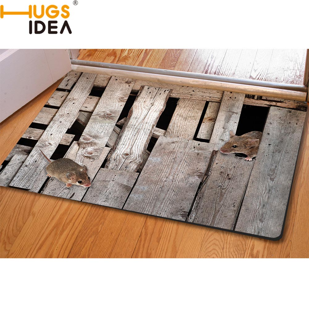HUGSIDEA 3D Carpet Home Kreatif Non-slip Kitchen Tapetes Rugs Para Casa Sala untuk Home Living Room Permaidani Alfombras Tapis Salon