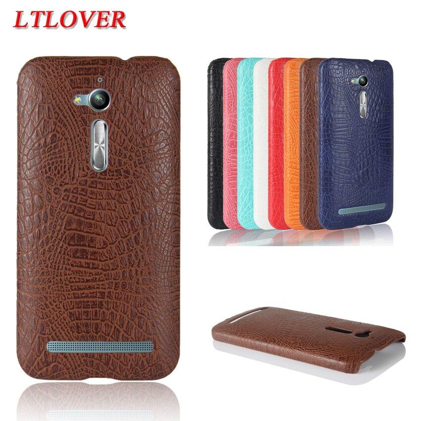 Высокое качество крокодиловой кожи PU кожаный чехол для телефона <font><b>Asus</b></font> <font><b>ZenFone</b></font> Go <font><b>ZB500KL</b></font> Чехлы задней крышки корпуса мобильного телефона