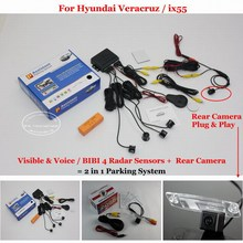 Liislee For Hyundai Veracruz ix55 Car Parking Sensors Rear View Back Up font b Camera b