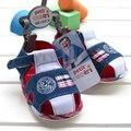 Em estoque verão 1 par sapatos menino crianças Sandals comprimento interno de 11 - 14 cm, Super qualidade Kids / Children Shoes