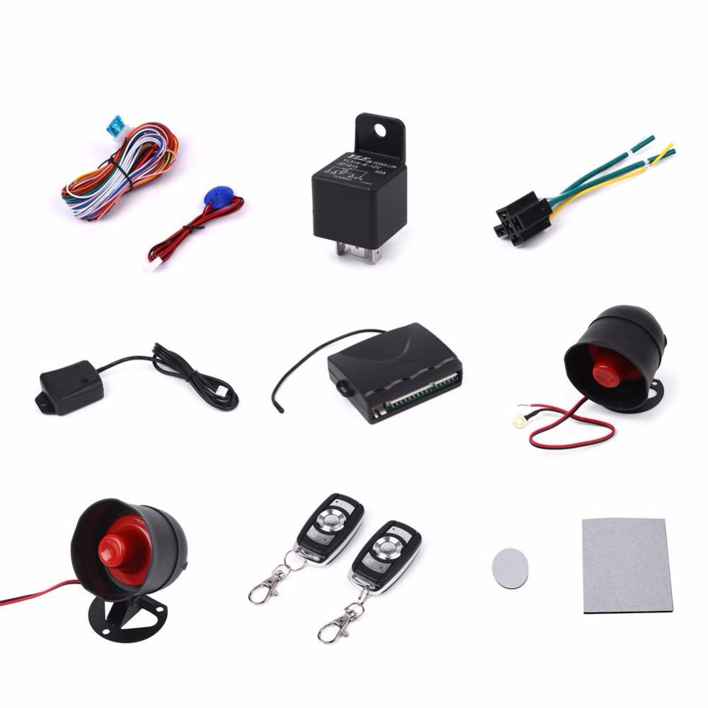 giantree Car Auto Keyless Entry Central Remote Control Anti Theft Alarm Alert System car alarm system keyless anti theft car system pke car alarm system smart remote control for toyota