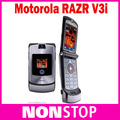 "Unlocked Original Motorola V3i Refurbished Cell Phones 2.2"" Bluetooth Multi-language Original Motorola RAZR V3i Mobile Phone"