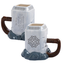 Marvel Thor Coffee Mugs Thorshammer Discount Mugs Cup Tea