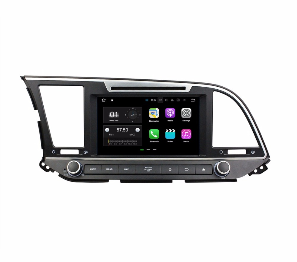 2GB RAM Quad core 2 din 8 Android 7 1 Car DVD Player for Hyundai Elantra