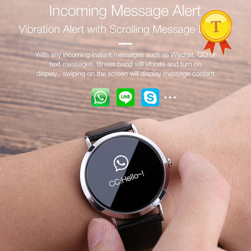 0 95inch OLED Fitness bracelet blood pressure smart bracelet heart rate monitor fitness tracker band smart