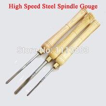 цена на Wood Lathe Turning HSS Spindle Gouge Set