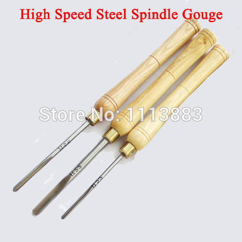 Spindle Gouge Set Wood Lathe Turning HSS Woodturning Woodworking Tool, A2010, A2011-1 ,A2012 For You To Choose