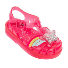 Melissa Shoes Summer New Roman Boy Girl Sandals Brazil Jelly Children Beach Non-slip Toddler