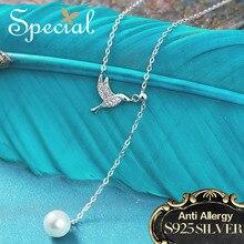 Специальные Модный бренд Колье натуральным жемчугом Макси Цепочки и ожерелья животных заявление Цепочки и ожерелья Jewelry подарки для Для женщин S1652N