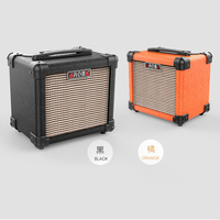 AG 10 Guitar Amplifier Speaker Box Handy Portable Acoustic Electric Guitar AMP Sound for Guitar Bass with Speaker 10Watt