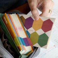 48 шт/2 листа цветной шестигранный индекс липкие Примечания