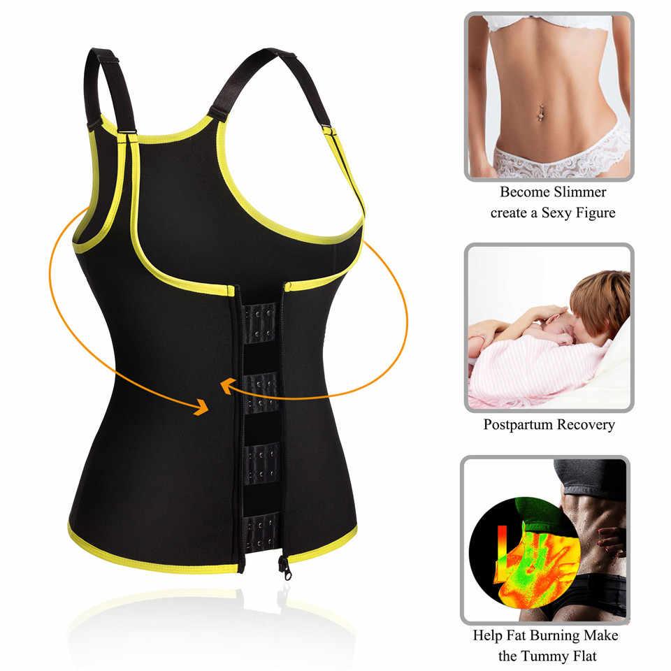 Чжунлян Для женщин Body Shaper неопрена для похудения Обучение жилет формирование рубашка для сауны уменьшение талии корректирующий корсет Управление Корректирующее белье