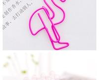 Бонита Каваи фламинго закладки marcador де металла clipe де папель п. сайт papelaria материал Эскола де escritorio