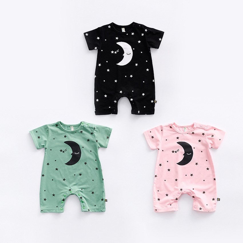 Child Clothes 2017 Summer New Baby Rompers Girl Clothes