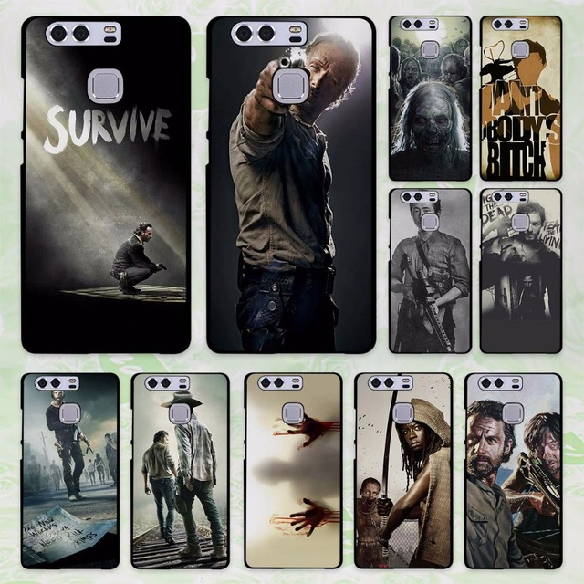coque huawei y6 2017 zombie