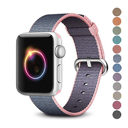 BUMVOR Nylon sport loop strap For Apple Watch band 42mm/38mm 44mm/40mm iWatch 4/3/2/1 bracelet wrist watchband accessories цена