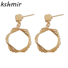 Popular fashion multilayer superposition of original design personality earring delicate earrings eardrop high quality