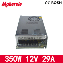 цена на 110V 220V AC to dc12V 29A MS-350-12 350w switching power supply smps mini size single output new type with CE certification