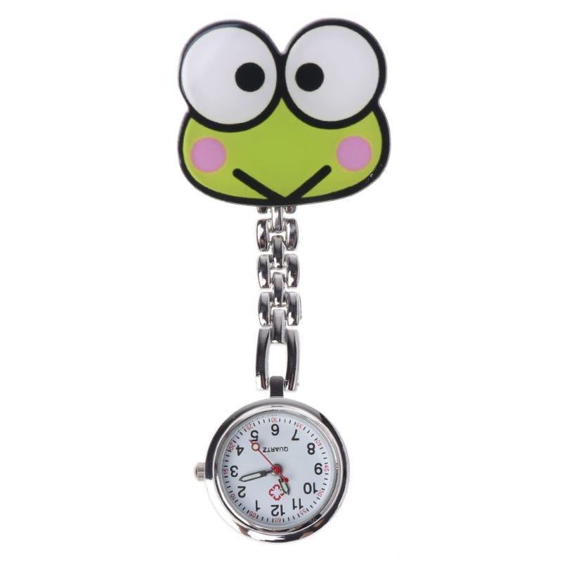 Hot Sale Nurse Watch Quartz Fashion Women Lady Pocket Watch Medical Hang Clip Portable Supplies Gifts Jewelry