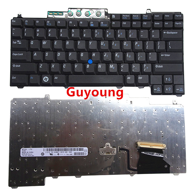 US English Laptop Keyboard For DELL Latitude D620 D630 D820 D830