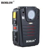 BOBLOV HD66-07 32 GB Corpo HD Câmera GPS Ambarella A7L50 Controle Remoto Night Vision IR Câmera de Vídeo Gravador de 1296 P Câmara de Vídeo HD