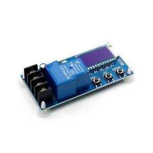 Image 3 - 6 60v 30A 10A Lead acid Solar Battery Charge Controller Protection Board charger Time switch 12v 24v 36v 48v battery capacity
