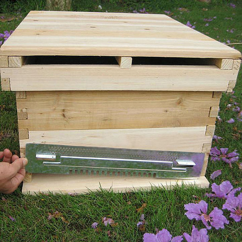 NOCM Bee Hive Sliding Mouse Guards Travel Gate Beekeeping Equipment Breeding Tool
