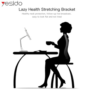 Image 3 - Yesido C33 Universal Lazy Tablet Phone Stand Holder Flexible Desk Bed Mobile Phone Mount Holder For iPhone Samsung iPad Stand