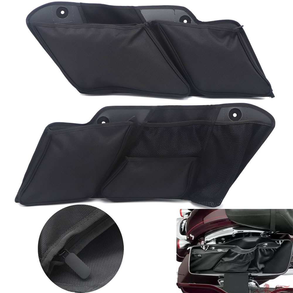 Motorcycle Accessories Saddlebag Inner Toolkit Liners Toolbags Case for Harley Touring 2014 2018
