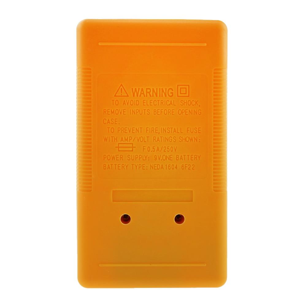 DT-830B skaitmeninis multimetras, elektroninis testeris, 0,5 colio - Matavimo prietaisai - Nuotrauka 6
