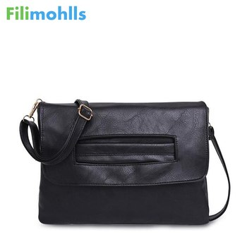 Hot Selling Women envelope clutch bag leather Crossbody Bags for women trend handbag messenger bag female Ladies Clutches S1183